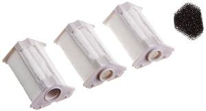 Dennerle 7004037 Ersatzkartusche für Nano-Eckfilter 3-er Pack