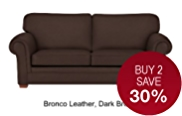Fraser Large Sofa - Leather