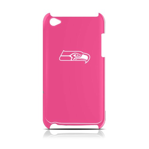 NFL Seattle Seahawks Varsity Jacket Hardshell Case for iPod Touch 4G, Pink, 4.4x2.4-Inch at Amazon.com
