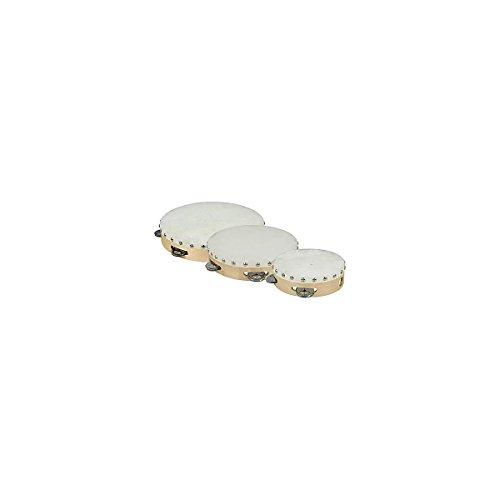 Cannon UPTAMB6S04H 6-Inch Single 4PRS Tambourine with Head (Tamborines For Kids compare prices)