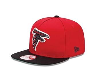 NFL Atlanta Falcons Team Flip 9Fifty Snapback Cap, Small Medium by New Era