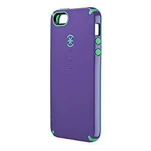 Speck Products CandyShell Case for iPhone 5/5s  - Grape Purple/Malachite Green