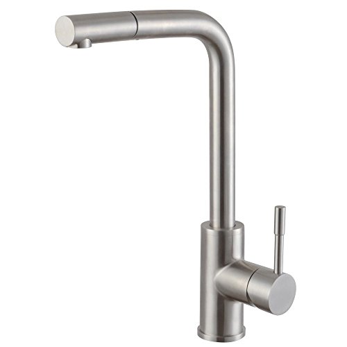 Get Cheap Kes L6953 Lead Free Single Handle High Arc Pull Down