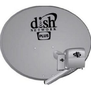 Dishnetwork Dish 500 Plus with New Lnb for Sat 110,119.118.7
