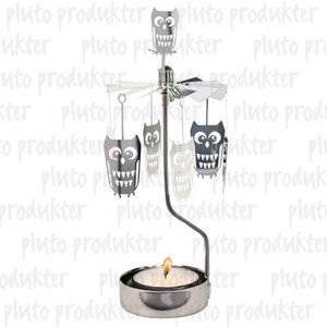 Owl Rotary Candleholder