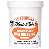Black and White Lite Pomade 200ml