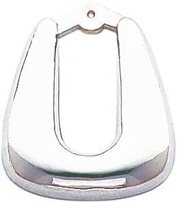 14K White Gold Hoop Earring Jackets Ear Jewelry New |E