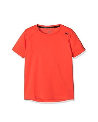 Puma Camiseta Manga Corta Active Ess Rojo