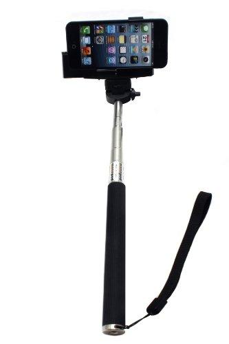 ufcit tm handheld monopod selfie stick with ajustable phone adapter phone holder frame for. Black Bedroom Furniture Sets. Home Design Ideas