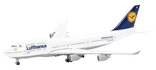 dickie-schuco-403551633-modellino-di-aereo-b747-400-compagnia-aerea-lufthansa-scala-1600