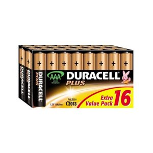 Duracell Plus AAA 8 + 8 Free