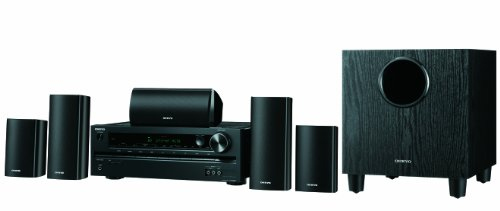 Onkyo AVX-290 5.1-Channel Home Theatre Receiver/Speaker Package (Discontinued by Manufacturer)