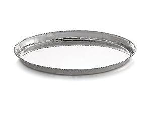Michael Aram New Molten Large Platter with Cutting Mat
