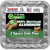 3PACK SQUARE CAKE PAN