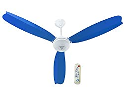 SUPERFAN Super A1 1200 mm Ceiling Fan with Remote Control (Capacity- 35 Watts, Color- Blue)