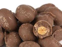 Chocolate Covered Peanuts, Double Dipped (2 Pounds)