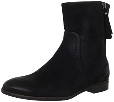 (大降)ECCO爱步高端新款Norwalk女士短靴 内外全皮Women's Norwalk Boot 黑$179.75