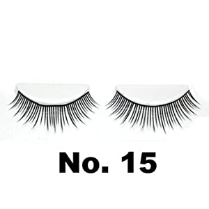 Model 21 False Eyelashes No. 15, 10 Pairs