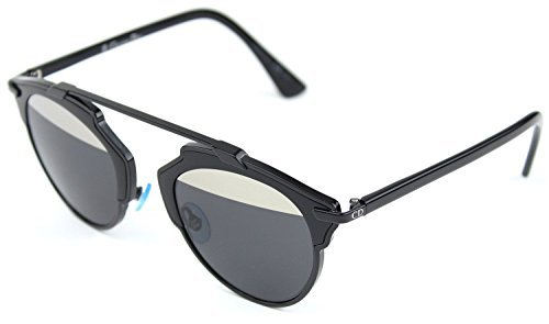 Christian-Dior-Cateye-Soreal-Sunglasses-Silver-Black-Frame-Gradient-so-real