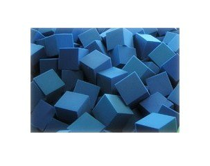 168-pcs-Foam-Rubber-CubesBlocks-for-Foam-Pit-Gymnastic-Pit-Motocross-pit-Skateboard-pit-Children-playhouse-protection-foam-6x6x6-Blue-6x6x6