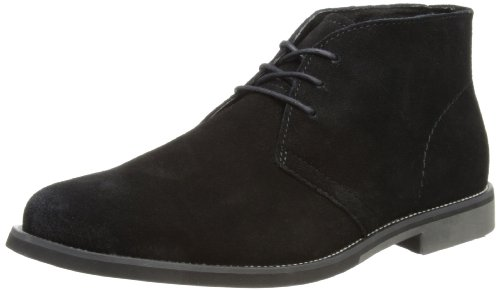 Hush Puppies Mens Hipster Chukka_PL Desert Boots Wide H103216 Black 6 UK, 40 EU