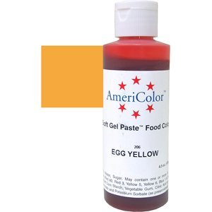 EGG YELLOW GEL PASTE 4.5 OZ Cake Decorating