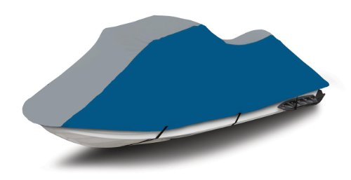 Blue/Grey 600 Denier Jet Ski Pwc Cover Fits Yamaha Wave Runner Wr 500 1987 -1991 1992 1993 front-1040383
