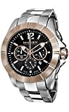 Haurex Italy Aston Chrono Black Dial Men's watch #0D366UNH