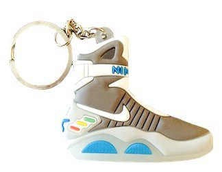 "Nike Air Mag ""Back to the Future"" 2D Flat Sneaker Keychain"