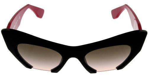 Miu MiuMIU MIU Sunglasses Women MU100S 1AB1E2 Semi- Rimless
