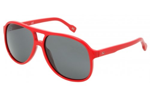 D&g By Dolce & Gabbana Unisex 3043 Red Frame/Grey Lens Plastic Sunglasses