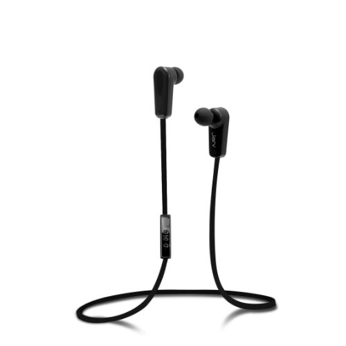 Jarv Nmotion Sport Wireless Bluetooth 4.0 Stereo Earbuds/Headphones With In-Line Microphone , Black