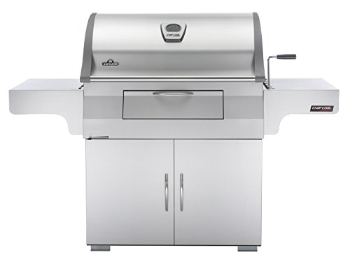 Napoleon PRO605CSS Mirage Charcoal Grill with Rear Burner (Reversible Stop Top Griddle compare prices)