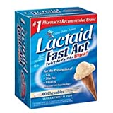 J&J Healthcare Lactaid Tabs Fast Act Chews Size: 60