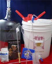 Carboy Homebrew Kit for Home Made Beer