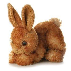 Aurora BITTY Rabbit Bunny MINI FLOPSIE 8