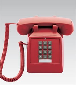 Scitec 2510E Red (Catalog Category: Corded Telephones / Basic Telephones)