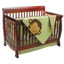 Amazon Com Mod Pod Pop Monkey 4 Piece Crib Bedding Set