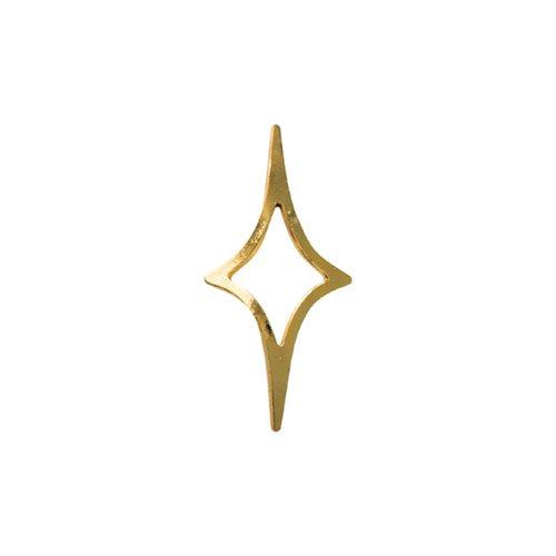 リトルプリティー キラキラ 4S ゴールド 50個 LPー6008G