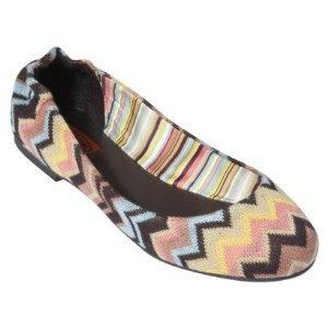 Missoni for Target® Girls Toddler Zig-Zag Ballet Shoe Flats, Venetian 13 (Target Ballet Flats compare prices)