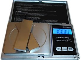 Digital Jewelry Pocket Scale-Diamond/Gemstone CARAT (ct)-Loose, Rough, Raw Gems
