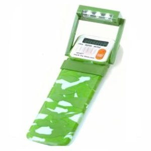 Mark My Time Camoflauge Bookmark with LED Light - Green (Timer Book Mark compare prices)