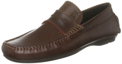 Tommy Hilfiger Men's Carl 1A Cognac Driving Shoe Fm86812877 9 UK, 43 EU