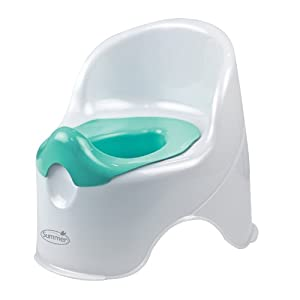 Summer Infant Lil' Loo Potty, White/Green