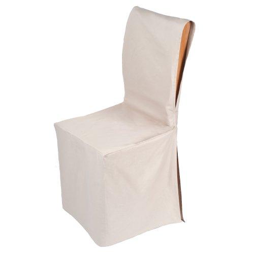 Housse chaise 3 - Housse de chaise beige ...