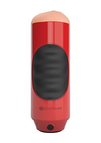Pipedream - Extreme Toyz Mega Grip Masturbator mit Vibration - Mund, 1 Stück