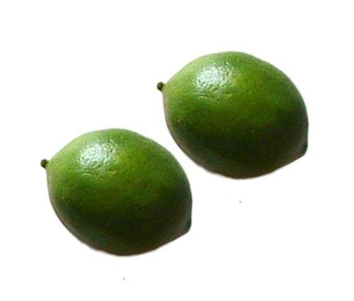 hotenergy-2pcs-artificial-green-lemons-decorative-fakeplasticornamental-fruit
