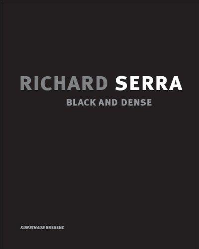 Serra Richard Books Richard Serra Drawings Work