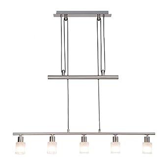 40W 1x E14 max eisen//chrom Klassischer Wandspot mit Zuleitung und Schalter Metall//Glas