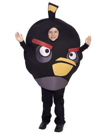 Paper Magic Group Angry Birds Black Bird Costume